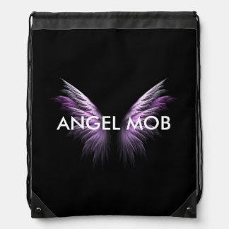 天使の暴徒のドローストリングバッグ ナップサック