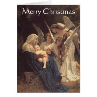 """""""天使の歌""""のクリスマスカード カード"""