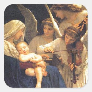 天使の歌、ウィリアム・アドルフ・ブグロー スクエアシール