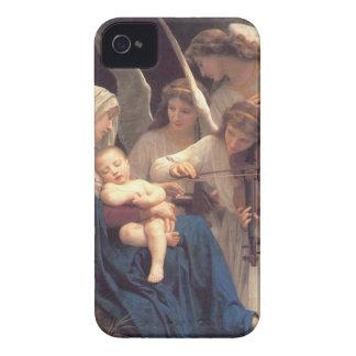 天使の歌-ウィリアム・アドルフ・ブグロー Case-Mate iPhone 4 ケース