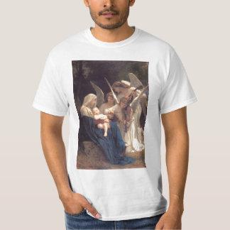 天使の歌-ウィリアム・アドルフ・ブグロー Tシャツ
