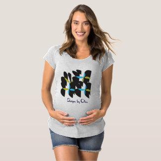 天使の母性のTシャツ マタニティTシャツ