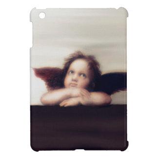 天使の男の子のSistine微笑のマドンナのリメイク iPad Miniケース
