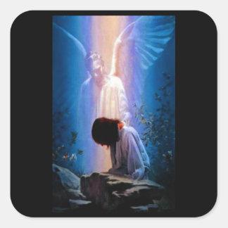 天使の祈りの言葉 スクエアシール