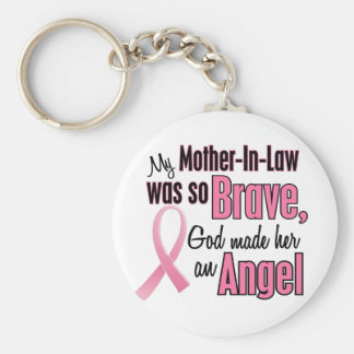天使の義母の乳癌のTシャツ キーホルダー