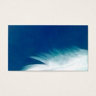 天使の羽の翼の鳥の精神の名刺 名刺