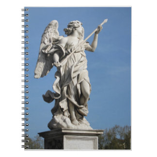 天使の螺旋綴じのノート ノートブック