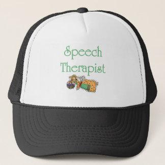 天使の言語療法士の帽子。 キャップ