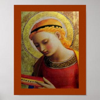 天使の読書聖書 ポスター