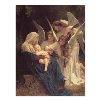 天使の郵便はがきの歌 ポストカード