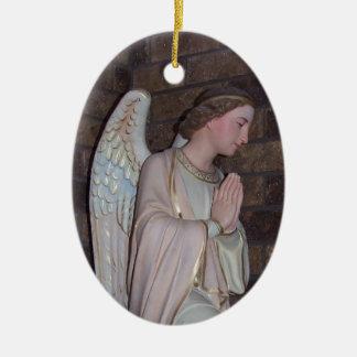 天使の陶磁器のクリスマスの装飾 セラミックオーナメント
