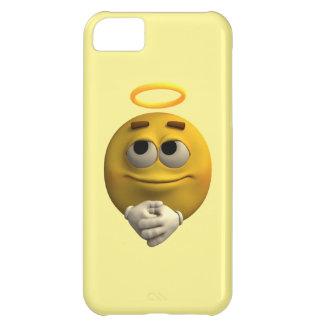 天使の顔文字 iPhone5Cケース