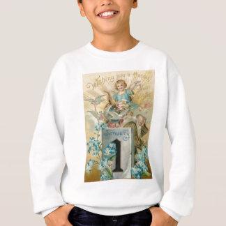 天使の鳩は私をNotsのコルヌコピア忘れます スウェットシャツ