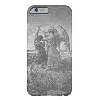 天使のiPhoneの例とのヤコブのレスリング iPhone 6 ベアリーゼアケース