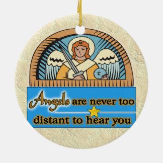 天使は決して余りに遠くないです セラミックオーナメント