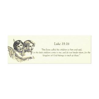 天使は91.44cm x 30.48cmの3.81cmのキャンバスのプリントをからかいます キャンバスプリント