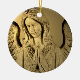 天使を祈ること セラミックオーナメント