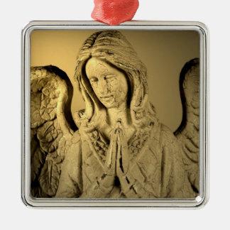 天使を祈ること メタルオーナメント