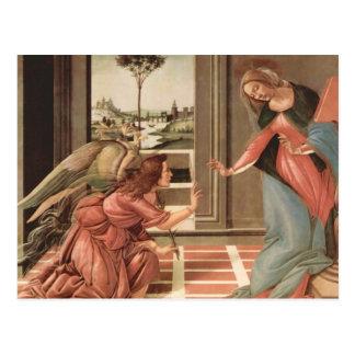 天使ガブリエルおよびメリー ポストカード