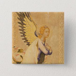 天使ガブリエル 5.1CM 正方形バッジ