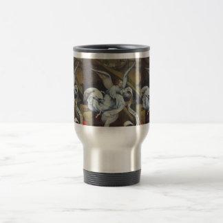 天使メッセージのタンブラー ステンレス製トラベルマグカップ