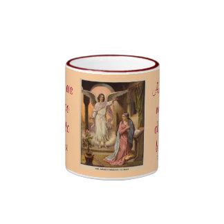 天使メッセージのマグ リンガーマグカップ