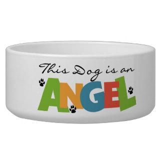 天使犬ペット皿