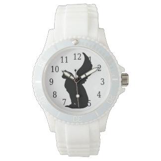 天使猫の腕時計 腕時計