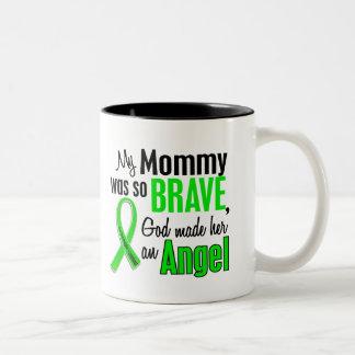 天使1の非Hodgkin'sリンパ腫のお母さん ツートーンマグカップ