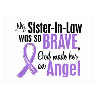 天使1のHodgkinsのリンパ腫の義理の姉妹 ポストカード