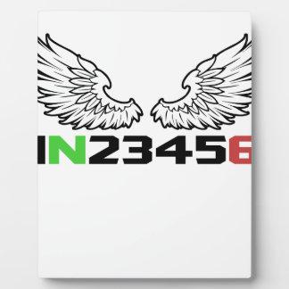 天使1N23456 フォトプラーク