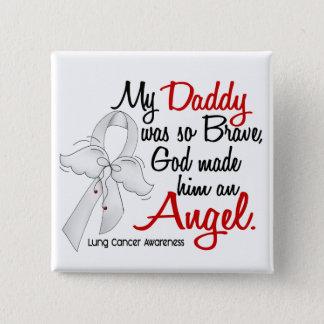 天使2のお父さんの肺癌 5.1CM 正方形バッジ