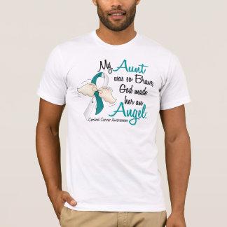 天使2の子宮頸癌・の叔母さん Tシャツ