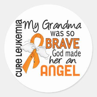 天使2の祖母の白血病 ラウンドシール