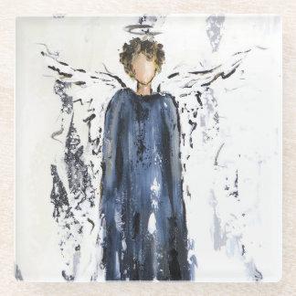 天使 ガラスコースター