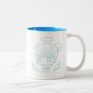 天使 ツートーンマグカップ