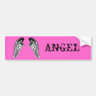 天使 バンパーステッカー