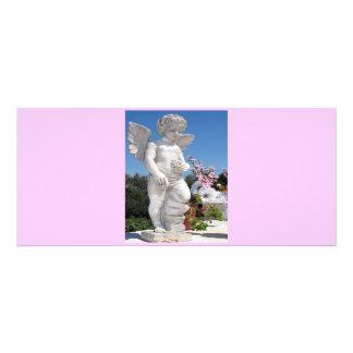 天使 彫像 ピンク V