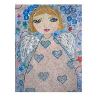 天使-民芸のスタイル ポストカード