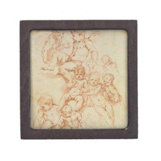 天使、17世紀初頭(紙の赤いチョーク) ギフトボックス