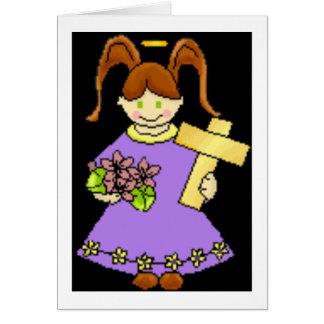 天使wの十字 グリーティングカード