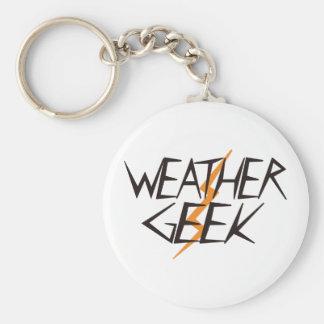 天候のギーク キーホルダー