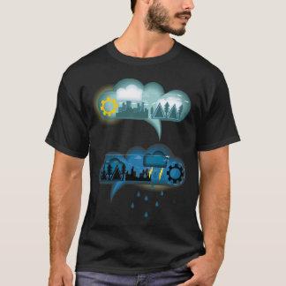 天候の泡話 Tシャツ