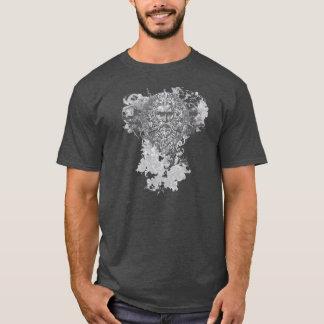 天候の顔のTシャツ Tシャツ