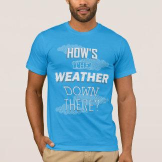 天候はいかにそこに下がりますか。 Tシャツ