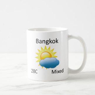 天候バンコク コーヒーマグカップ