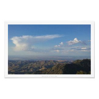 """""""天国および丘""""、自然の装飾 フォトプリント"""