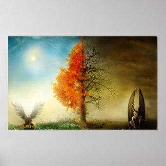 天国および地獄 ポスター