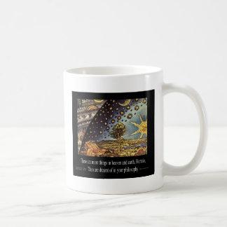 天国および地球 コーヒーマグカップ