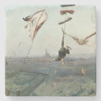 天国と地球間、1862年 ストーンコースター